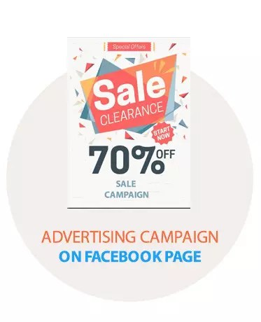 Advertising Campaign on Facebook Page