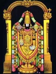nnames of lord venkateswara tirupati balaji srinivasa
