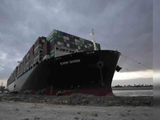 Tugs, dredgers fight to unblock Suez Canal, ship may be partially unloaded - Times of India