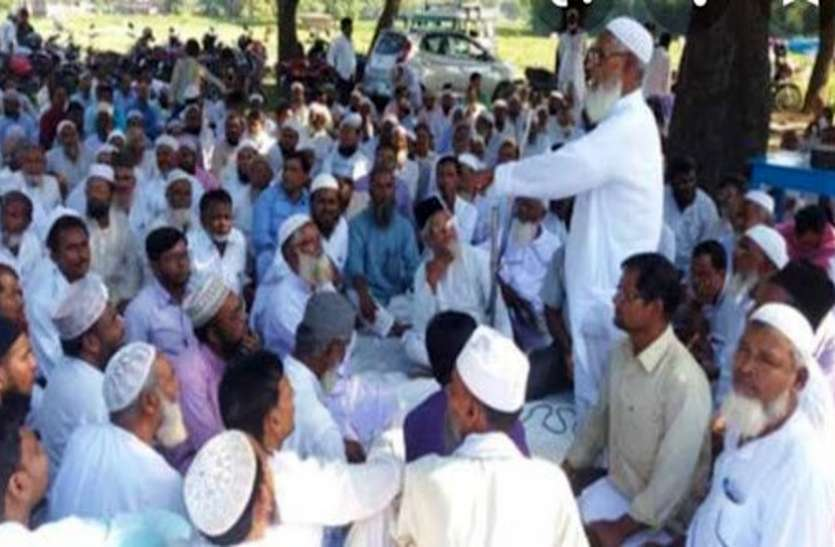 After meeting in the madrasa, the Muslims said this on