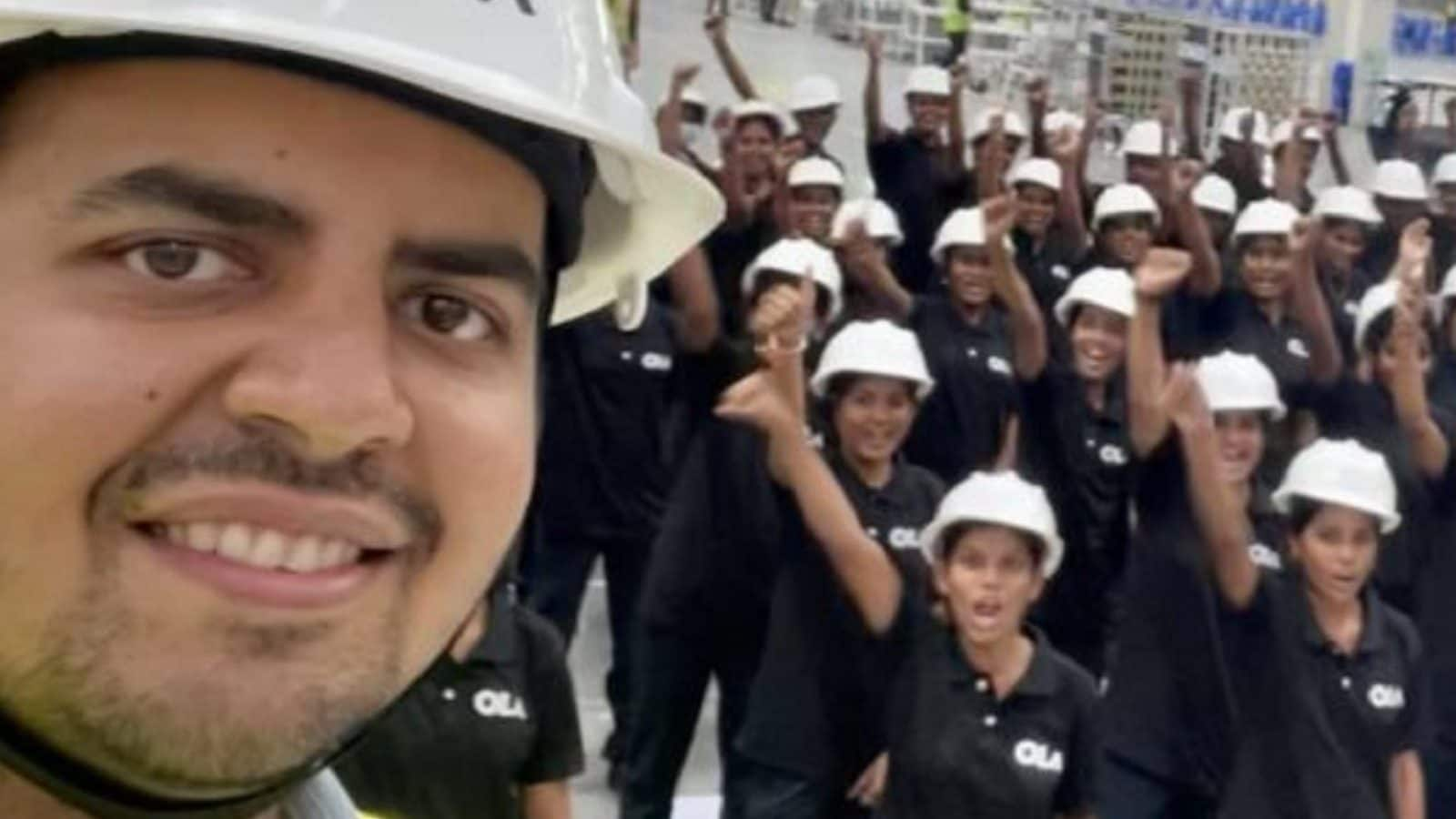 Ola Electric Scooter Futurefactory to Hire 10,000 Women, be World's