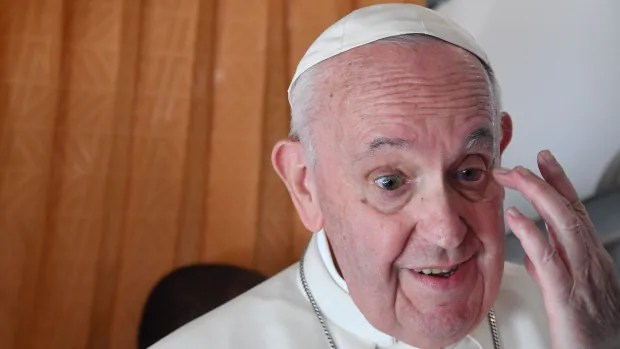 Pope says he doesn't understand why people refuse COVID-19 vaccines   CBC News