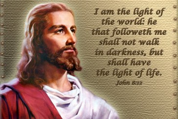 Jesus ignites Light of the World in you