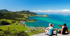Exotic experience-View from Mt Manaia