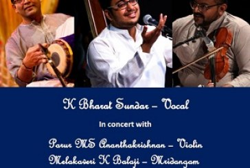Young master's debut Carnatic Music concert