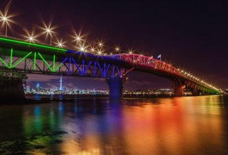 World-Class lighting system for Harbour Bridge