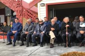 Maori Felicitation to Police Officer
