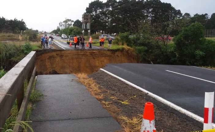 Community 'divided' by SH1 washout