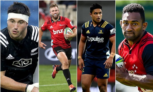 Four new faces in All Black Championship squad