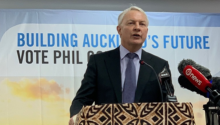 Phil Goff promises 'Better Auckland' as second-term Mayor