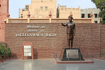 The tragedy of Jallianwala Bagh at Wellington Exhibition