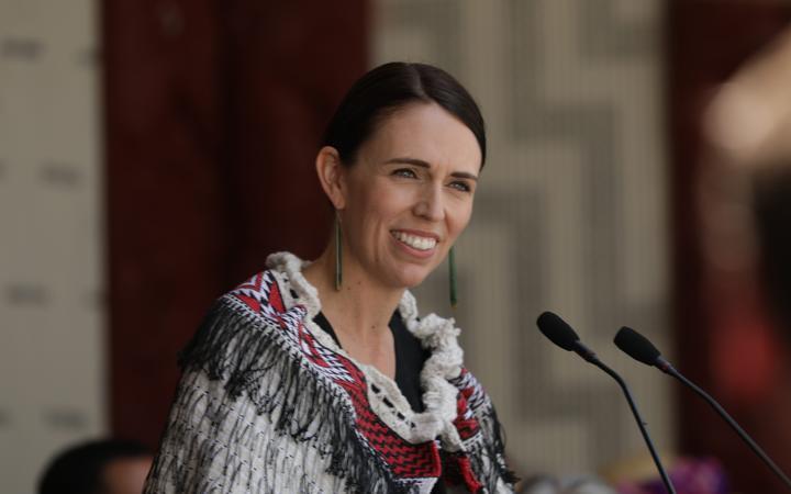 Jacinda Ardern scores, others pitch politics at Waitangi