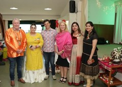 Taupo residents experience the spirit and substance of Diwali