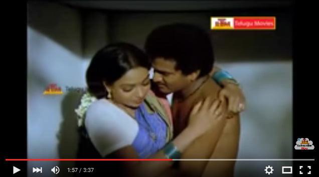 RajendraPrasad & Aruna Bathroom Scene - Samsaram Oka Chadarangam Movie - YouTube 2016-03-21 00-55-22