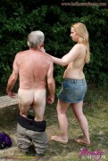 grandfather fucking my pussy and sucking my boobs दादाजी का लौड़ा 7