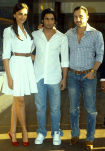 Deepika, Prateik and Saif Ali Khan