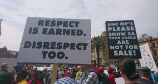 National Shut Down March Pretoria
