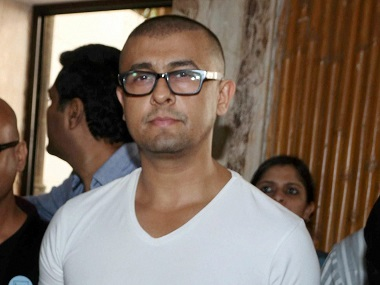 Sonu Nigam at press conference