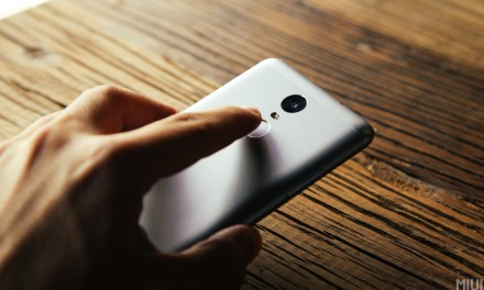 Xiaomi Redmi Note 3: A low budget device with finger print scanner.