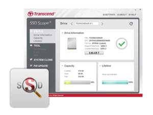 Transcend SSD Scope