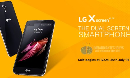LG X Screen Price, Specification And Availability In India