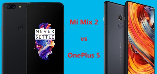 Mi Mix 2 vs OnePlus 5