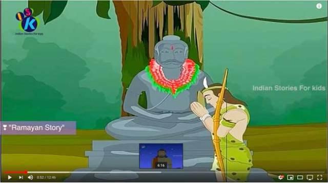 ekalavya_animation_for_children_mahabharat_hindi_02