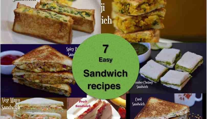 7 easy best veg sandwich recipes indian style indian veggie delight forumfinder Images