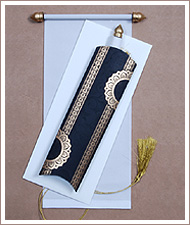 scroll wedding cards, scroll wedding invitations, scroll invitations