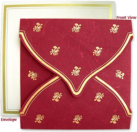 What are the different categories in Indian wedding invitation cards?
