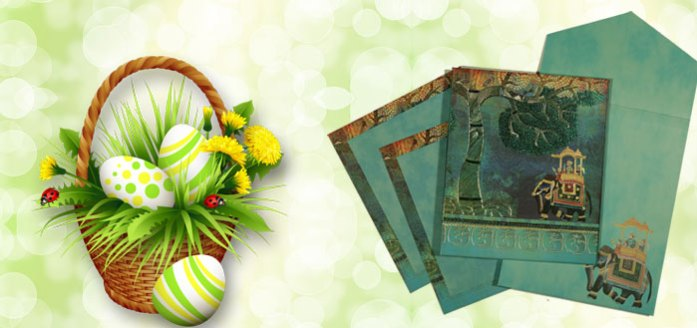 Wedding Cards Easter Offer - IndianWeddingCards