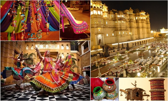 Rajasthani Wedding Theme - IndianWeddingCards