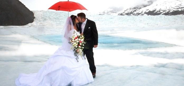 Alaska Glacier Wedding - IndianWeddingCards