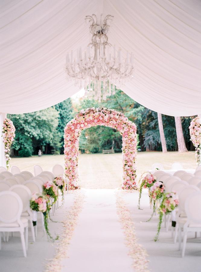Floral Wedding Altar - IndainWeddingCards