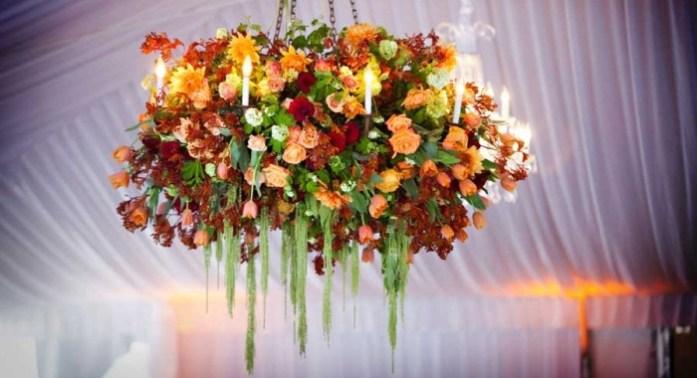 Floral Wedding Chandeliers 2 - IndianWeddingCards