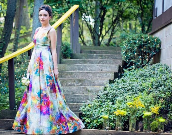 Floral Wedding Gowns 2 - IndianWeddingCards