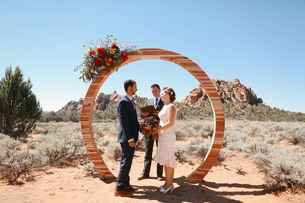 Texax Desert Inspired Wedding - IndianWeddingCards