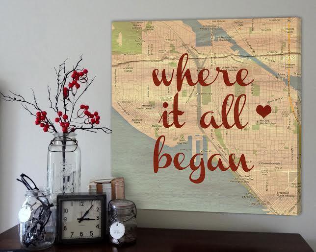 Wedding Map Track