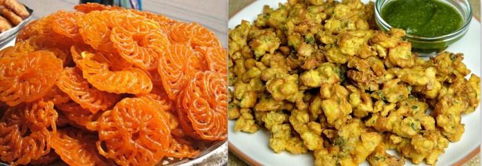 Colorful Monsoon Wedding Food - IndianWeddingCards
