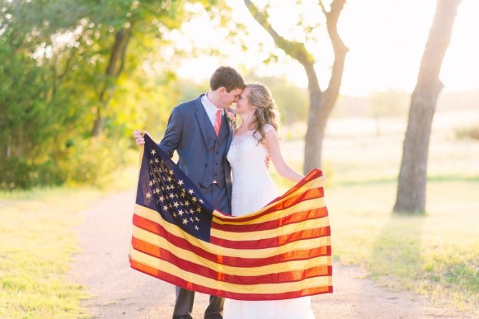independence day wedding ideas