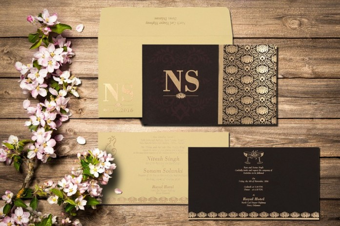wedding invitation cards-CD-8261G
