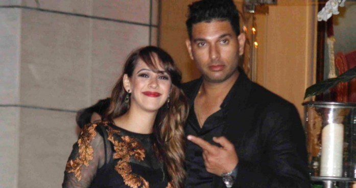 fullonwedding-celebrity-weddings-yuvraj-singh-hazel-keech-wedding-couple - IndianWeddingCards
