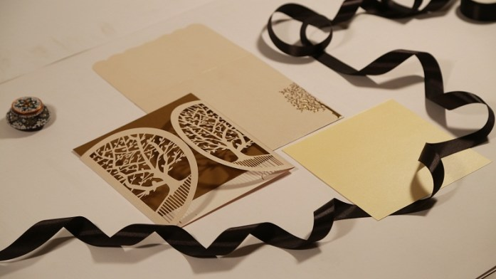 Laser Cut invites -IndianWeddingCards