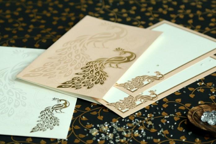 foil stamping wedding invites CD-1679