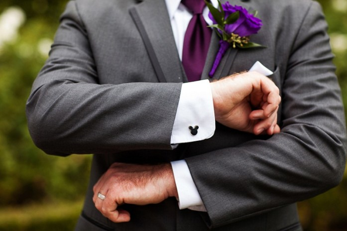 Disney inspired Cufflinks- Disney wedding inspirations