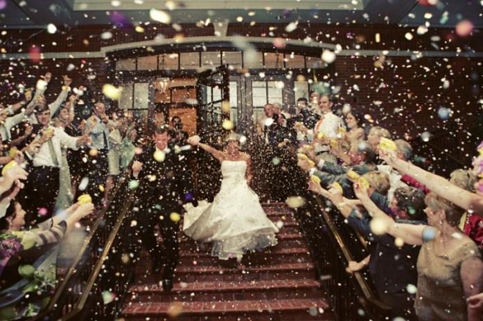 Wedding confetti-Disney themed wedding ideas