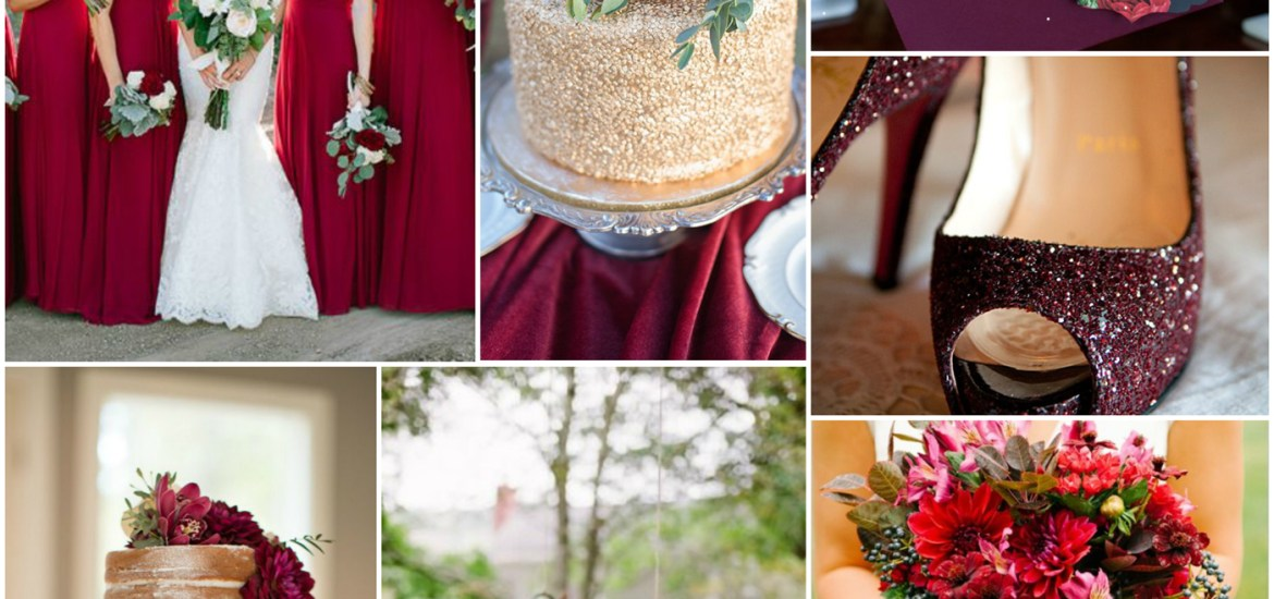 5 Most Loved Metallic Color Palettes For Winter Wedding ideas