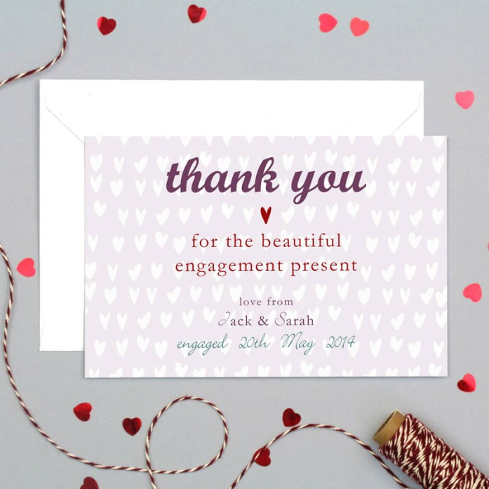 screen printed thank-you cards