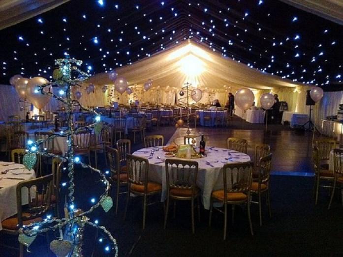 Light Up The Night Christmas Wedding