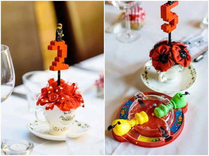 Lego Wedding table Numbers